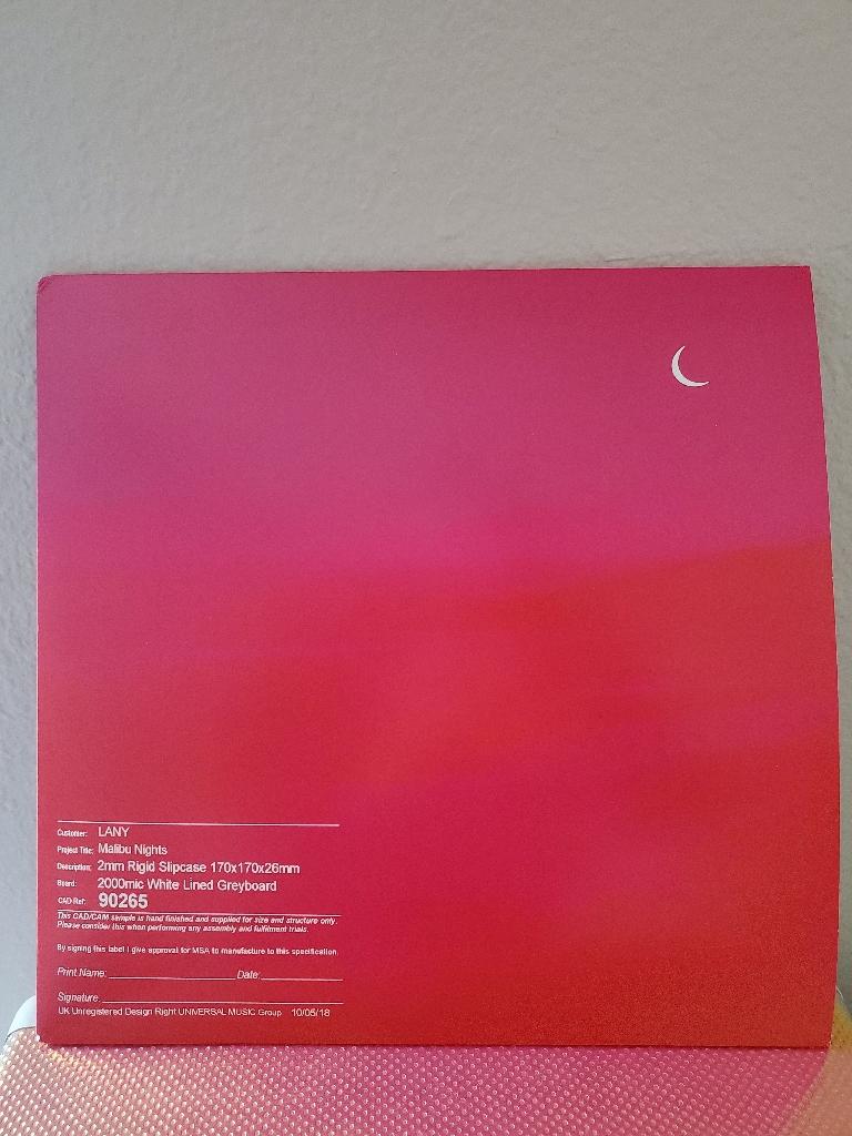 Lany Malibu Nights album