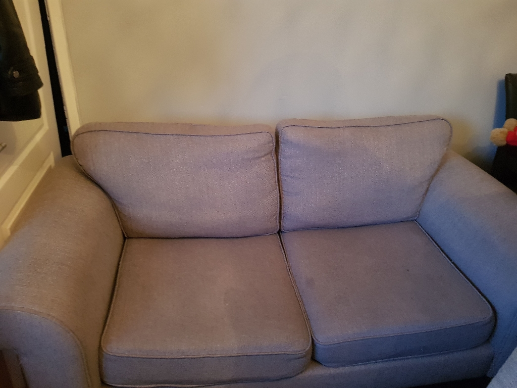2 two seater couches and chair