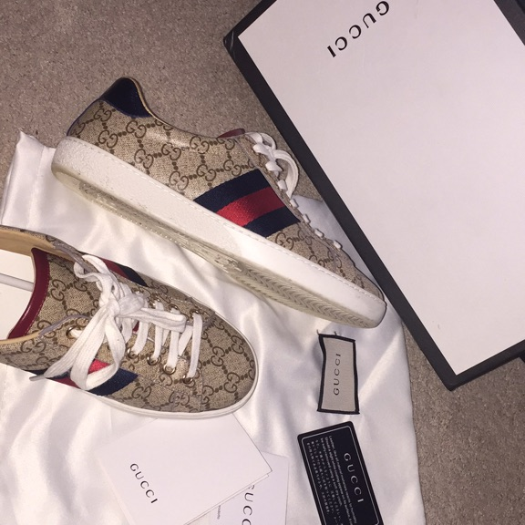 Gucci sneakers used unisex