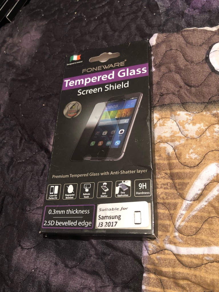 Screen protector for Samsung j3 2017