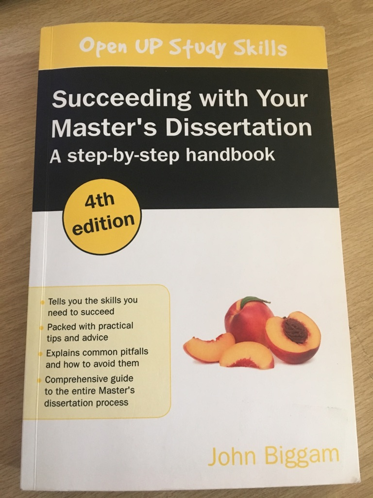 Succeeding in your masters dissertation