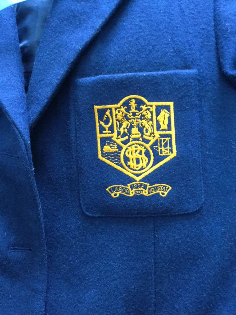 BELFAST HIGH SCHOOL - Blazer , Scarf & P.E Skirt/ Shorts