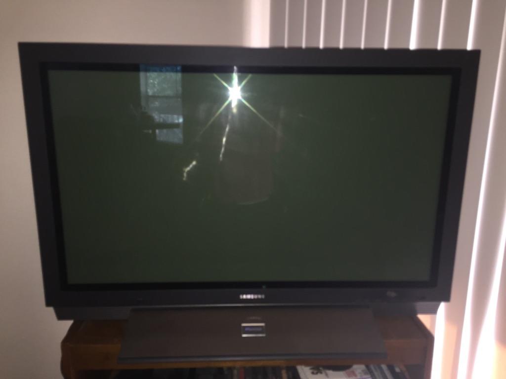 Samsung Plasma HDTV 2003