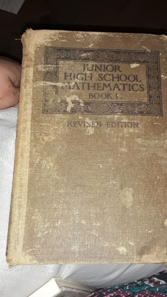100+ year old Math Books