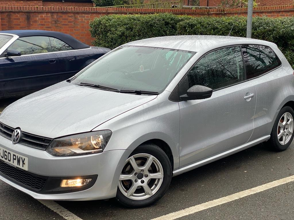 New shape Volkswagen polo