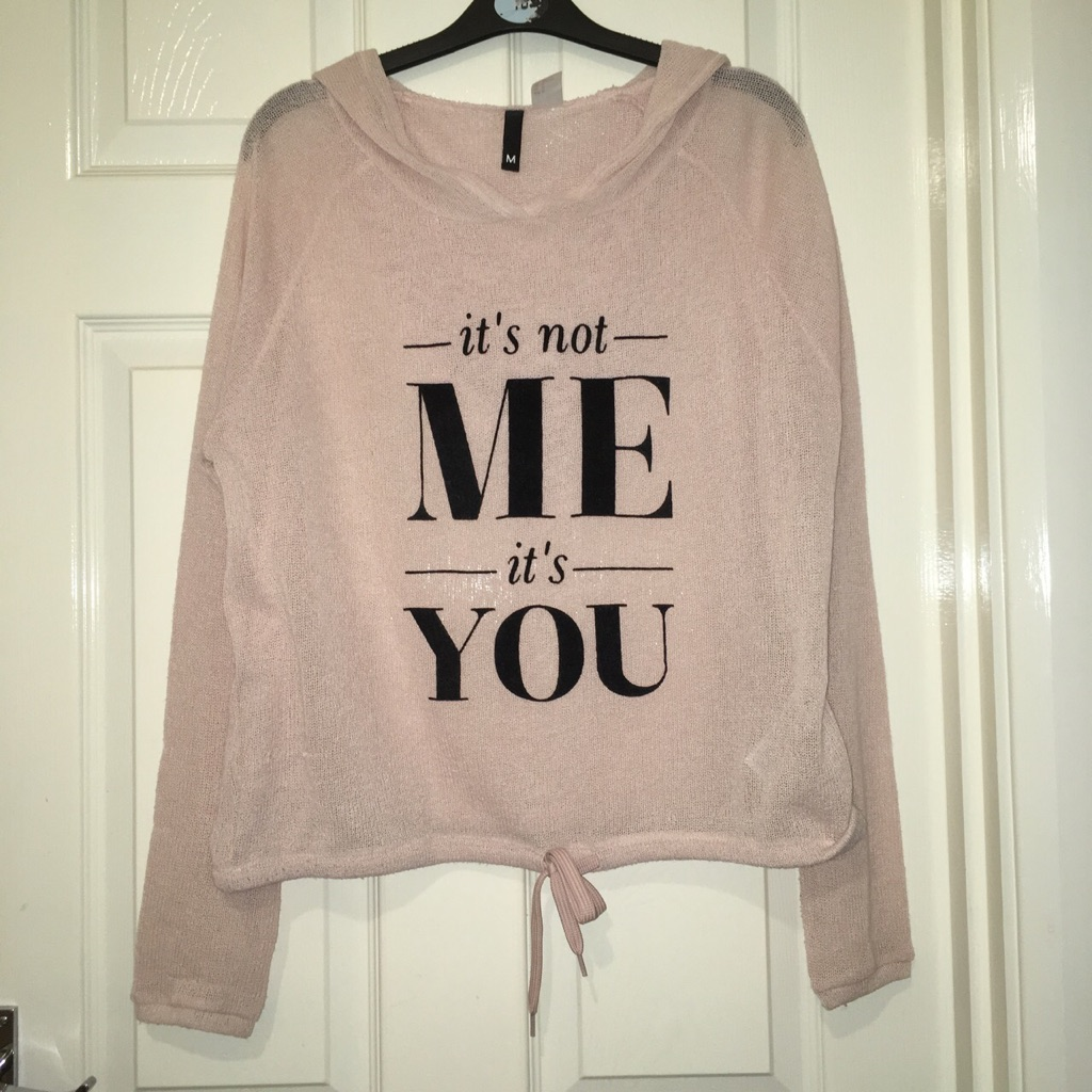 Pale pink jumper
