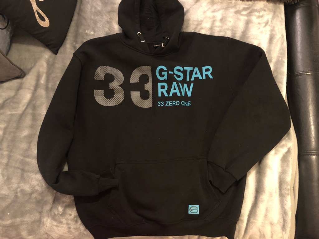 G Star Raw Inspired Hoody XXL Worn Once