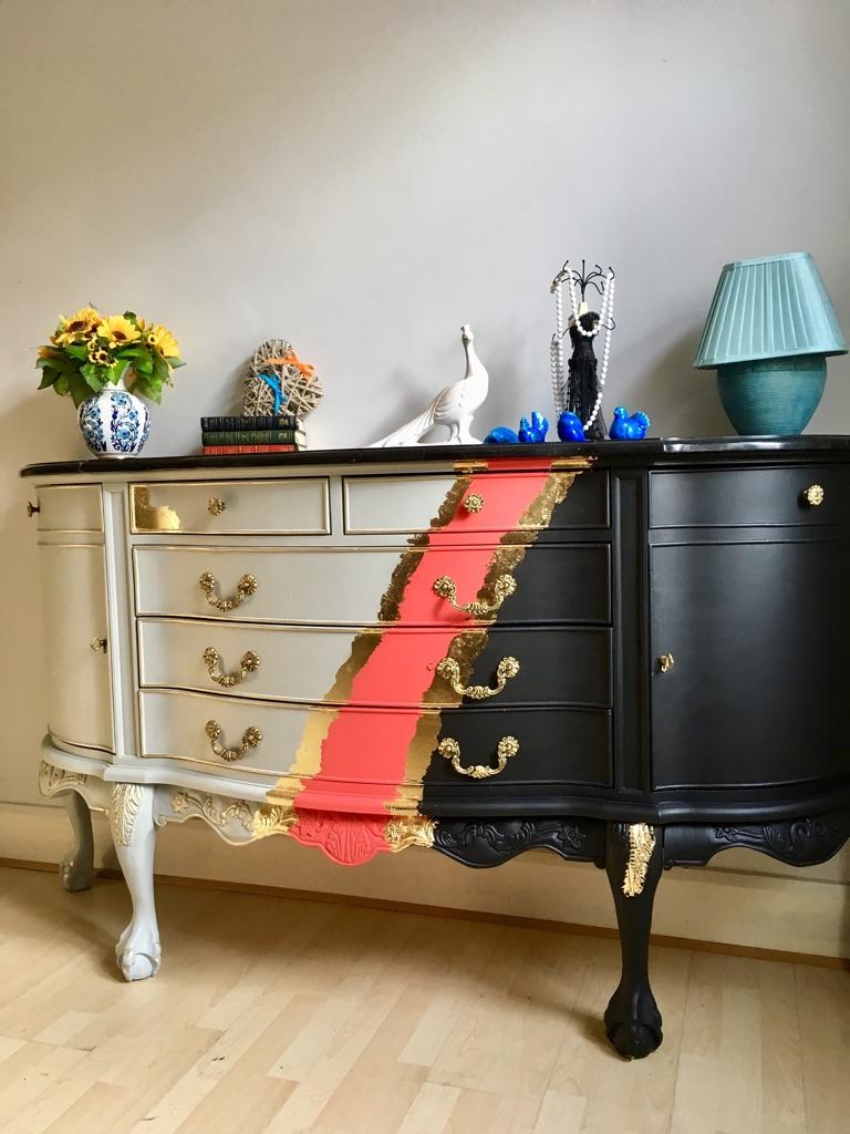 Unique Design Large Sideboard Cabinet Buffet