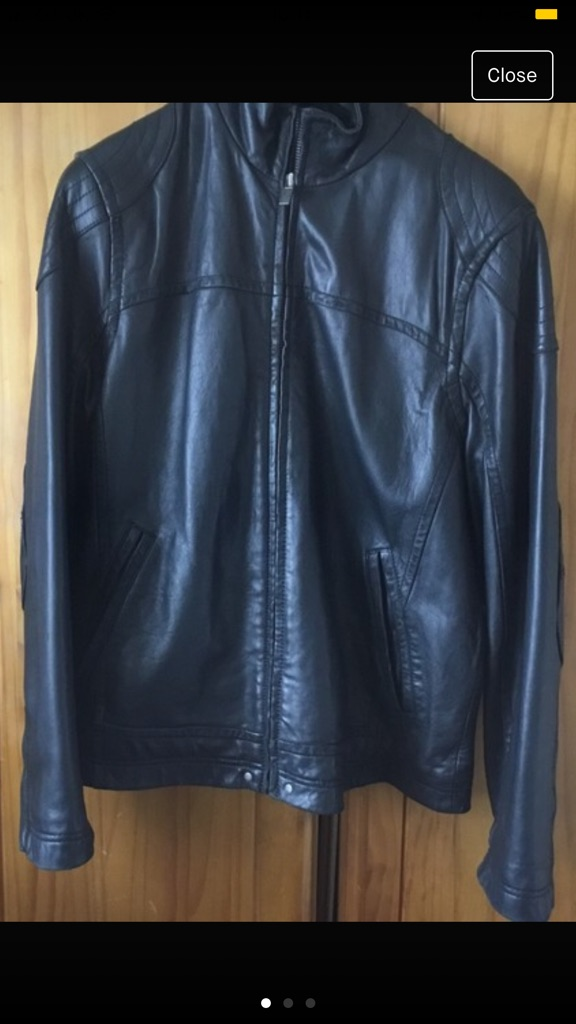 Gents UGG leather jacket