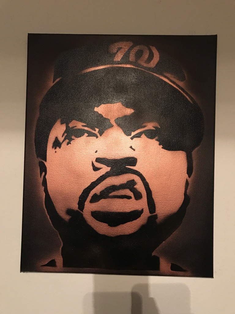 Ice Cube 16x20 Graffiti Canvas