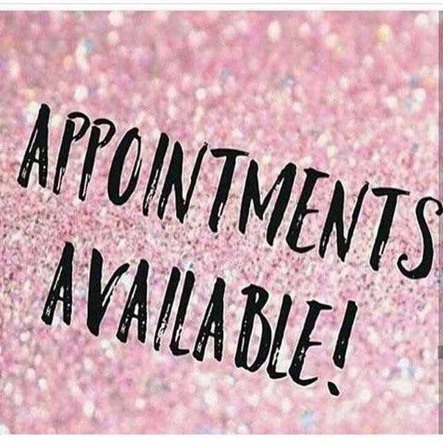 Colour/Styling Appointments
