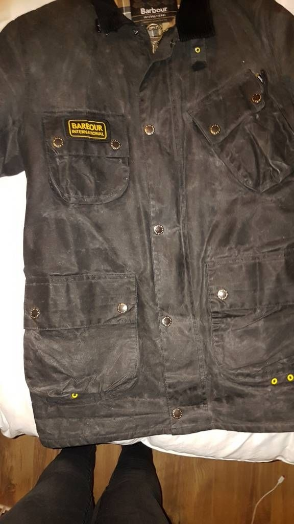 Genuine Barbour mens wax jacket