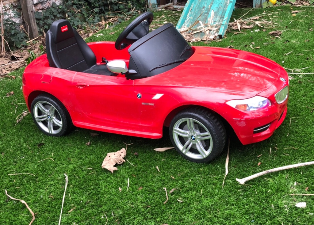 BMW kids toy car to drive in