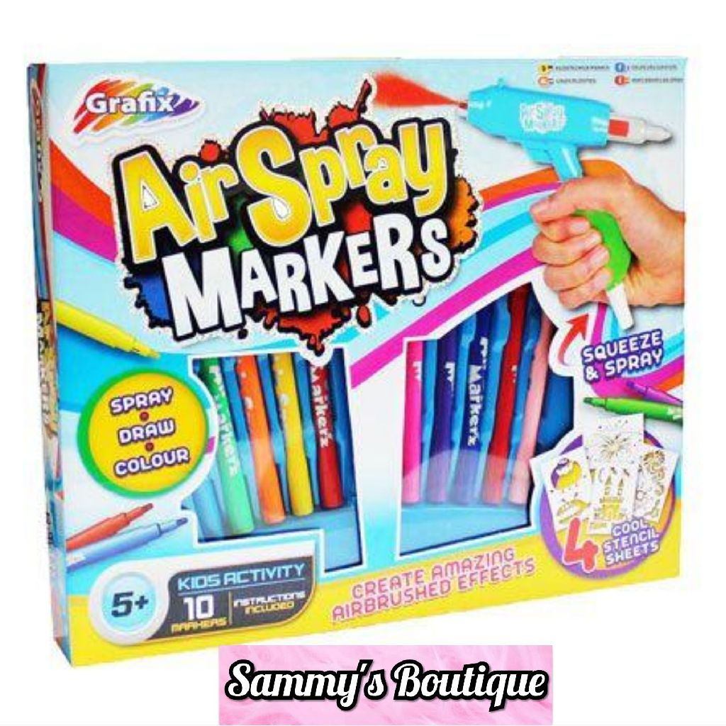 Grafix Air Spray Market Set