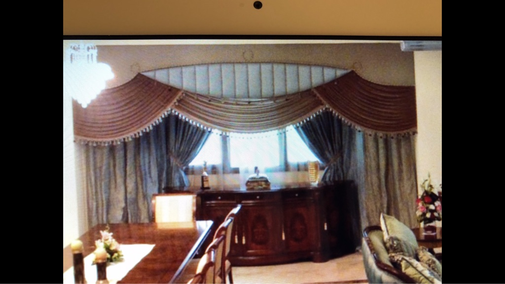 12fT Luxury Curtain Valance