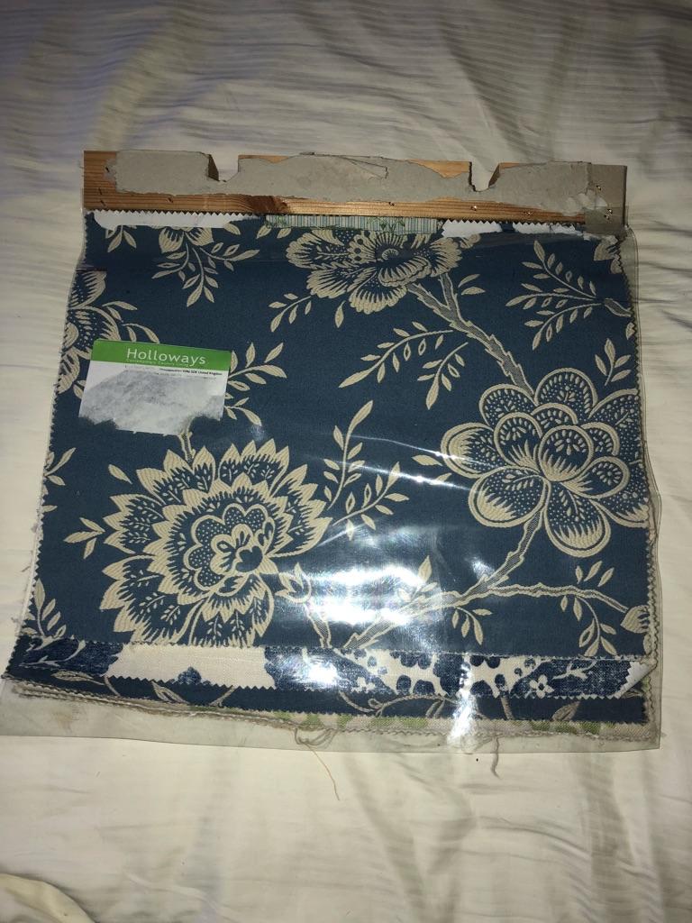 Large fabric sample book