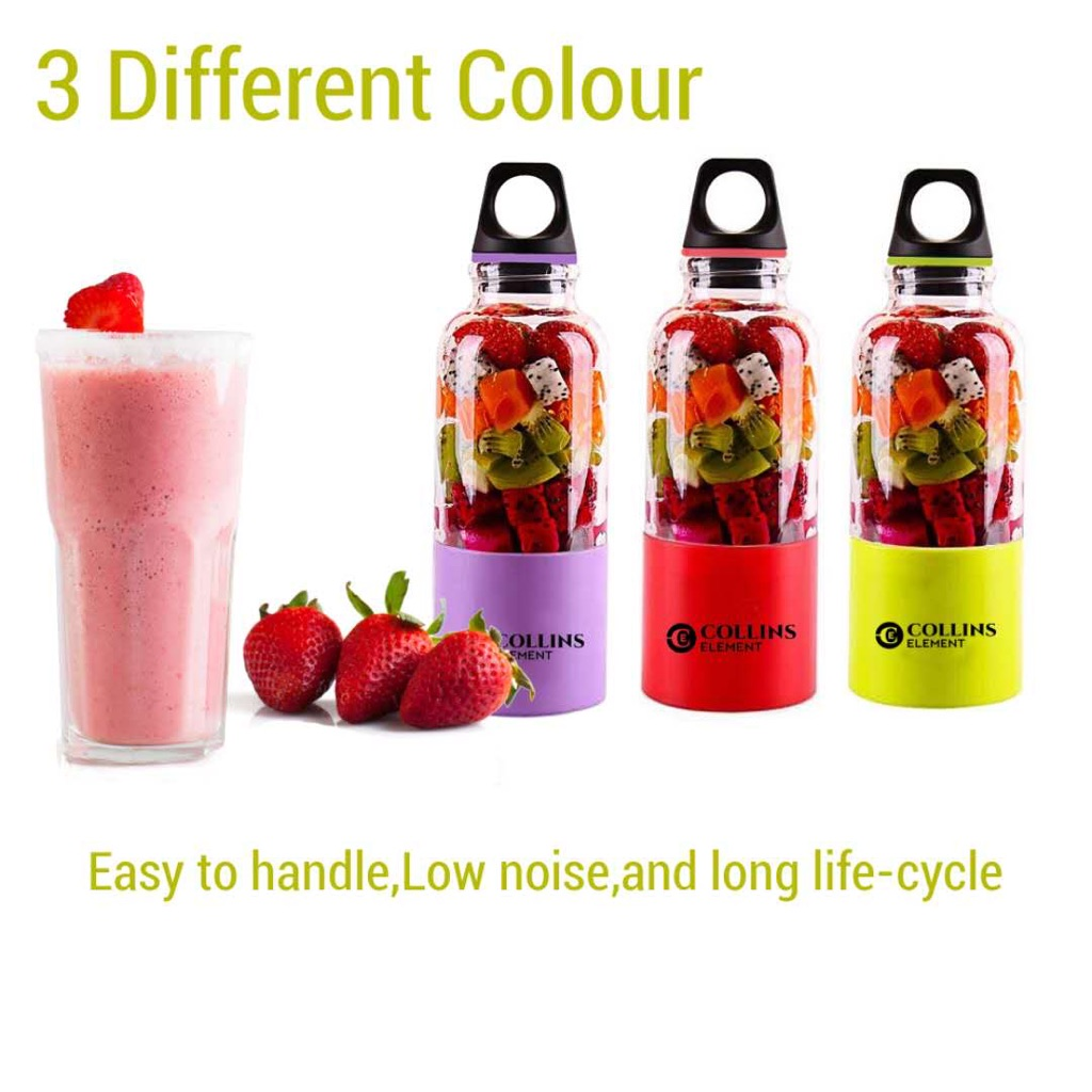 Collinelemnet usb blender juice