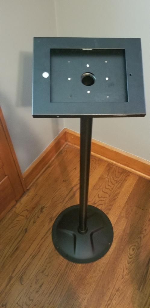 iPad floor display stand