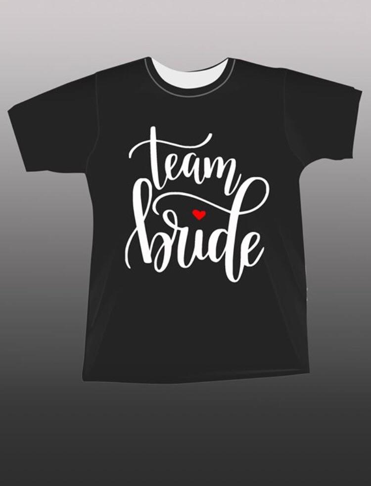 Hen party T-shirts / Team Bride / Bride Tribe / I do / I do Crew