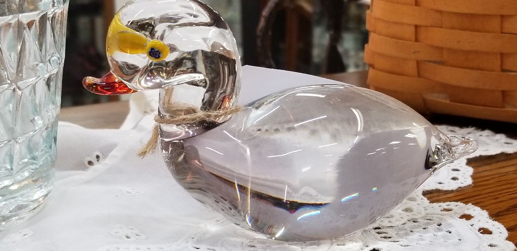 MURANO  GLASS  DUCK