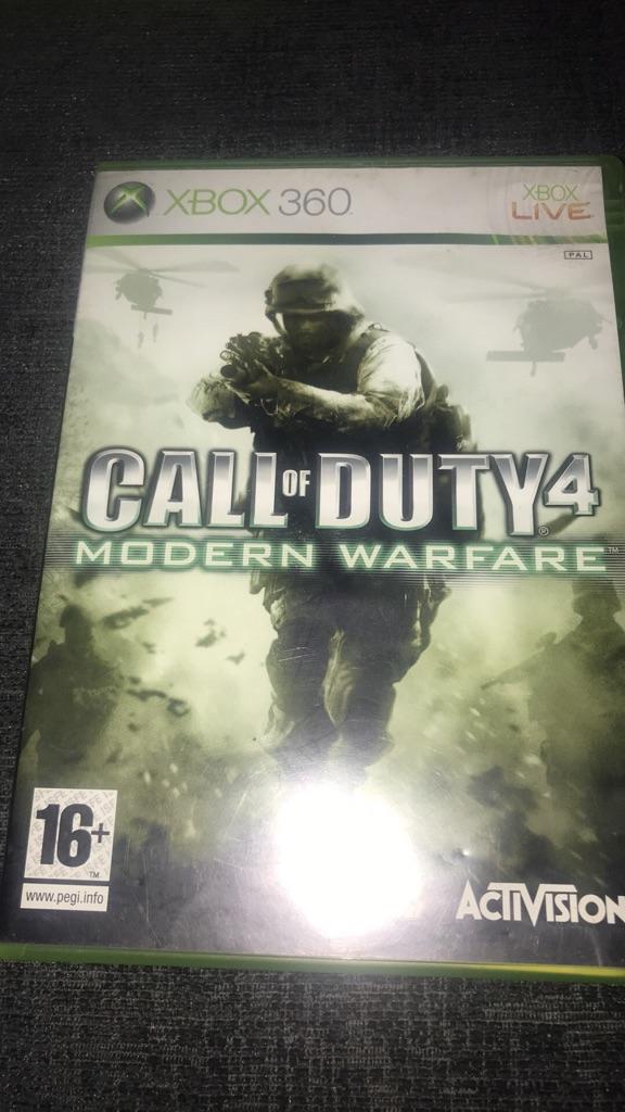 Call of duty modern warfare 4 Xbox