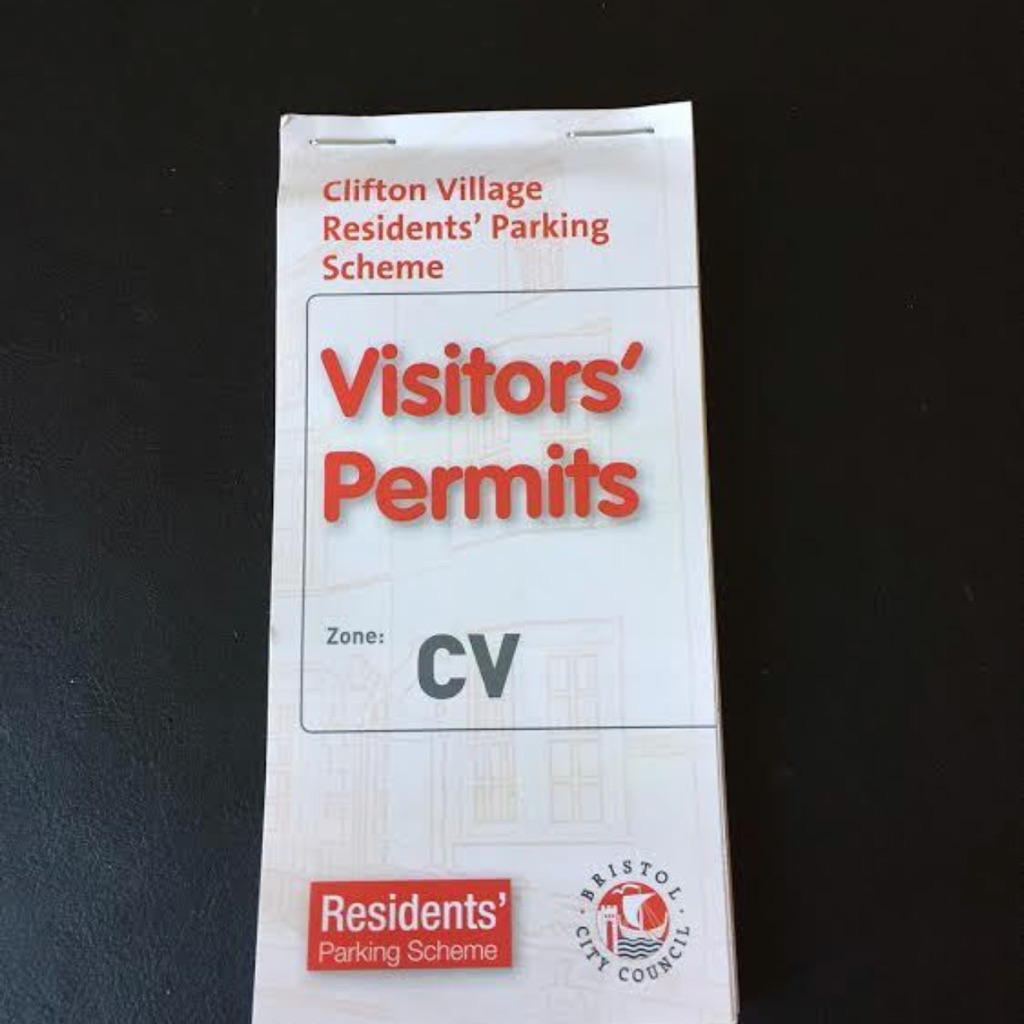 Wanted residence Bristol parking permits