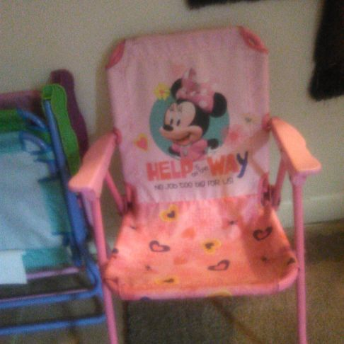 Minnie mouse child's chair