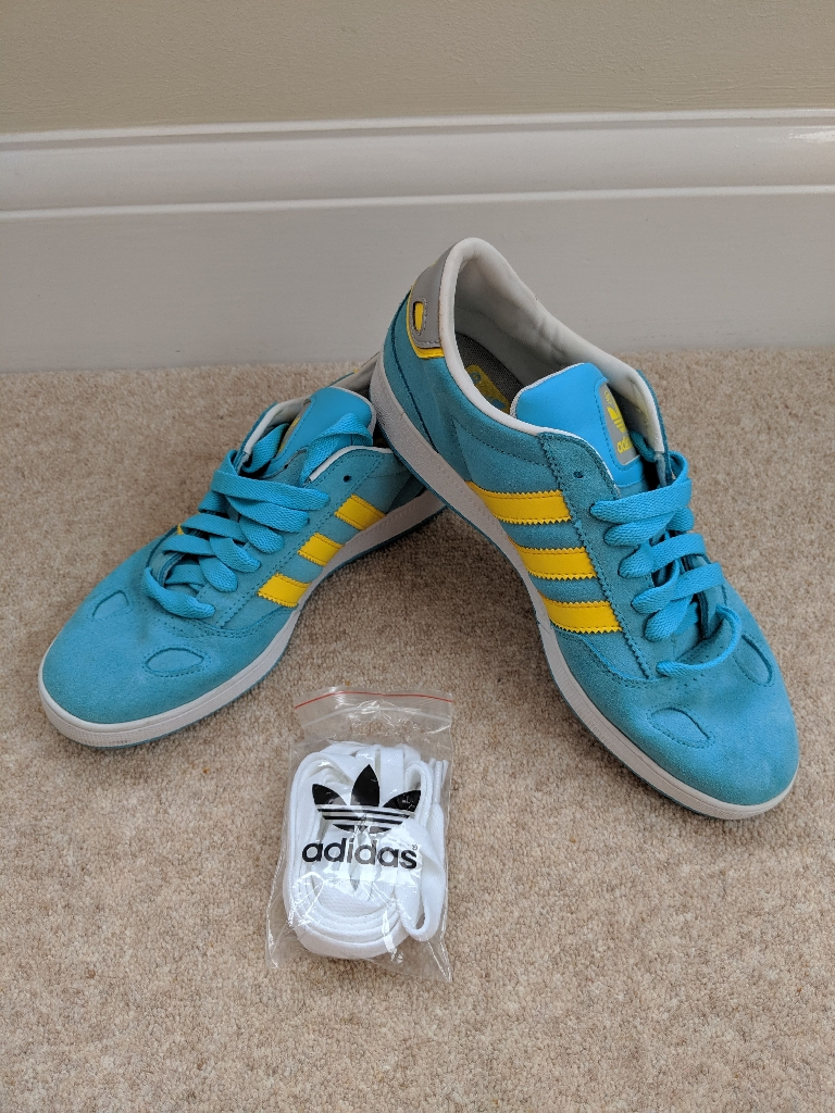 Adidas Men's Ciero ST Size 7 Blue & Yellow