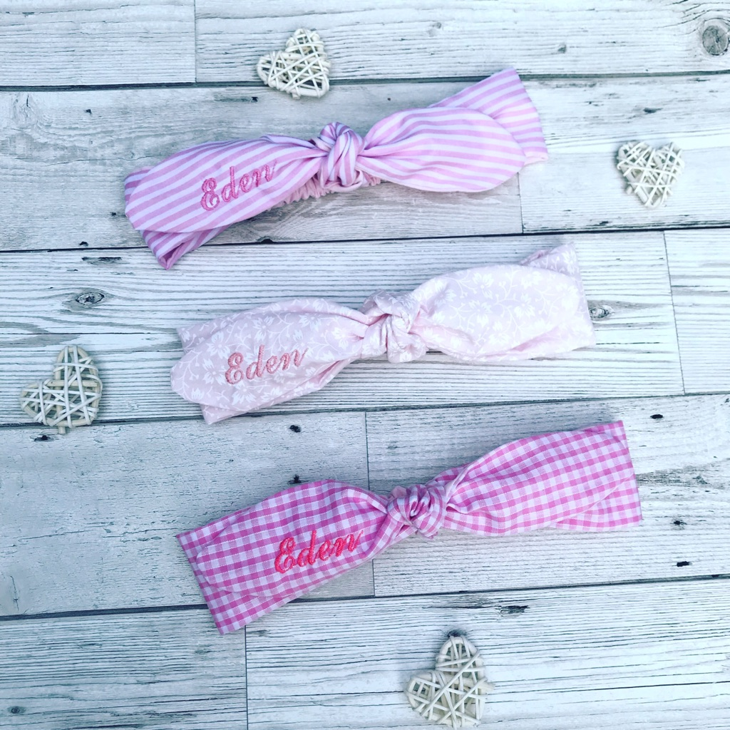 Headbands personalized