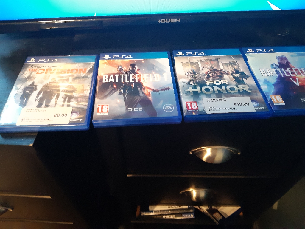 Battlefield1 battlefield V division for honor