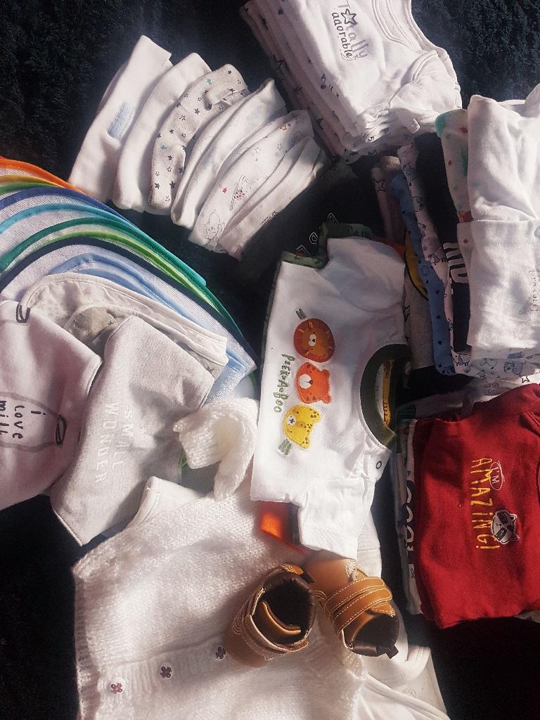 Baby boy clothes bundle
