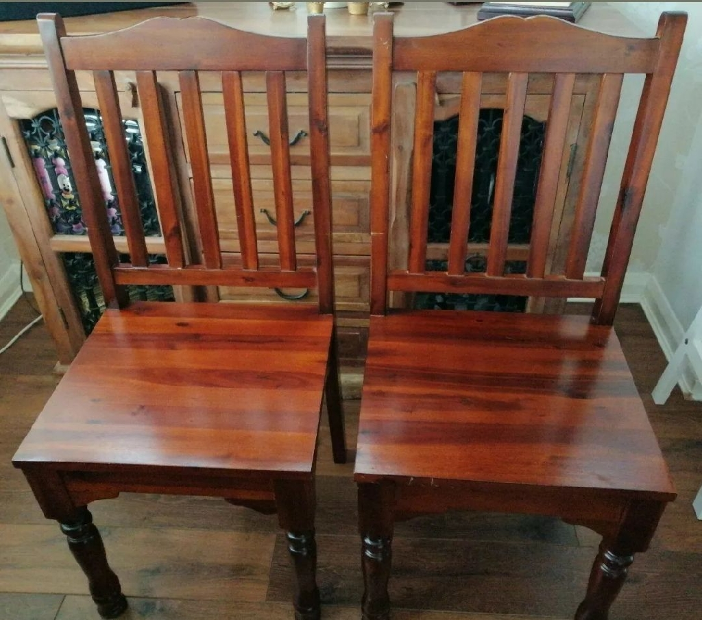 Next - Dining room table, 6 chairs & sideboard