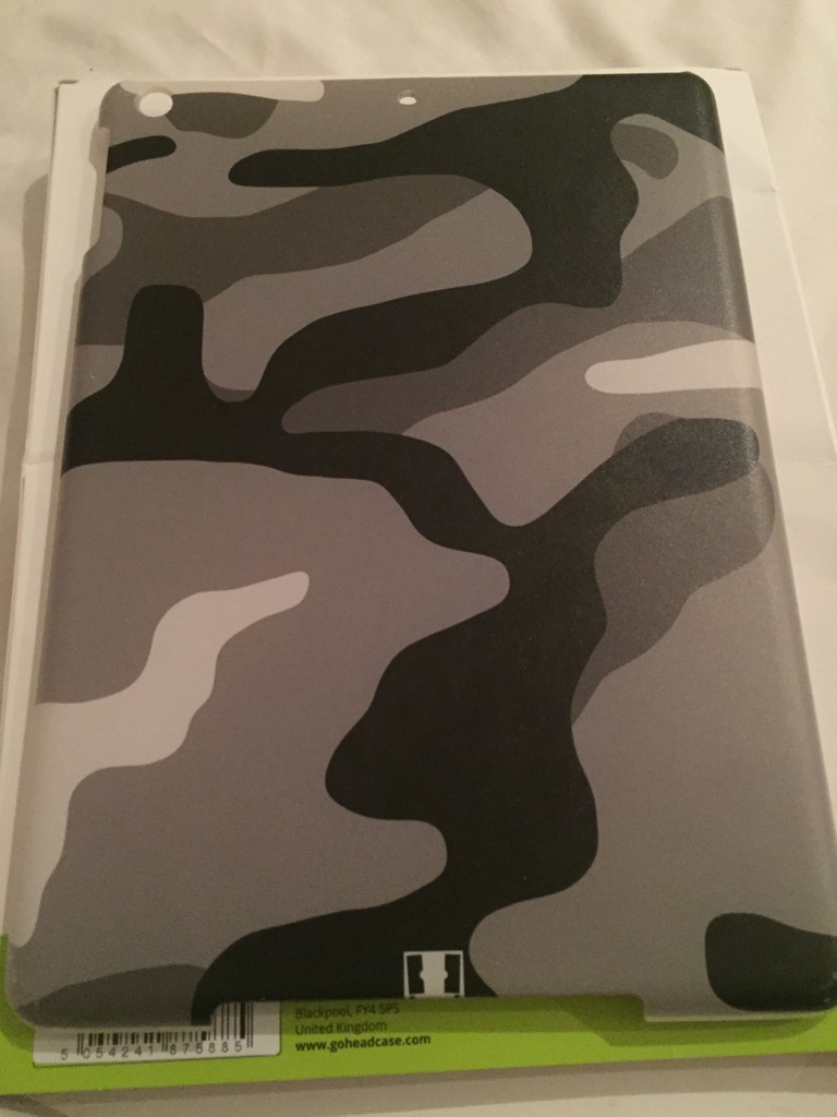 Camo iPad Air Case