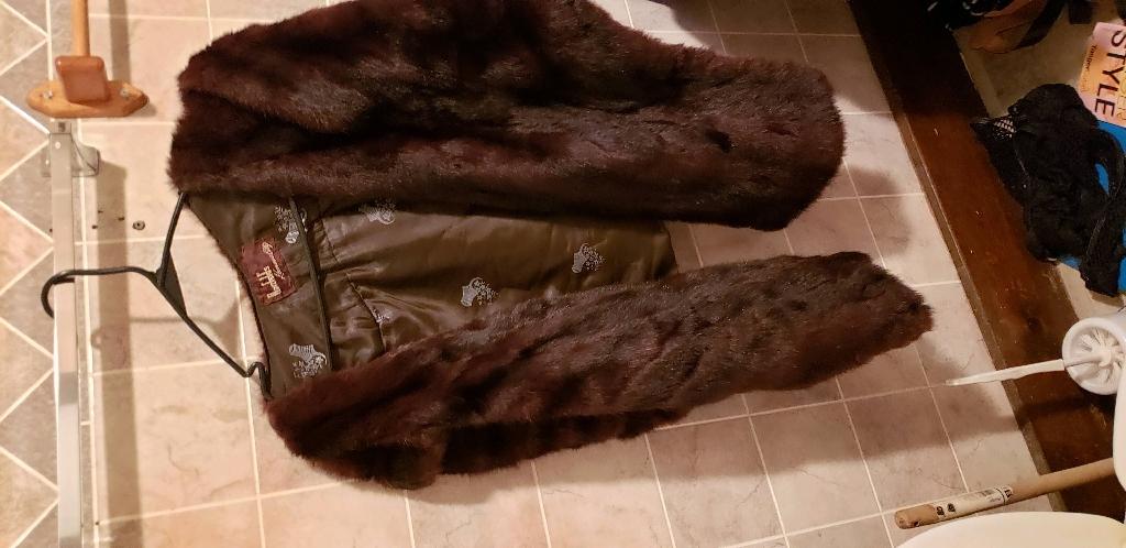 AUTHENTIC fur wrap
