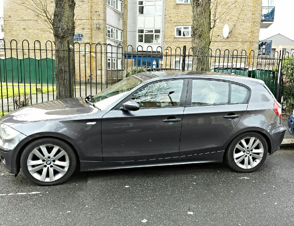 BMW 1 SERIES, 1.8 DIESEL,120K MANUAL DARK METALLIC GREY