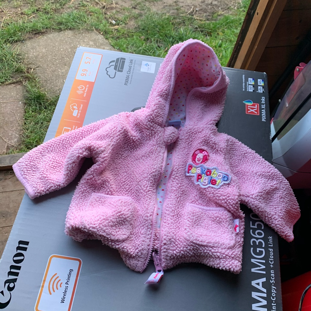 Piglet fleece jacket