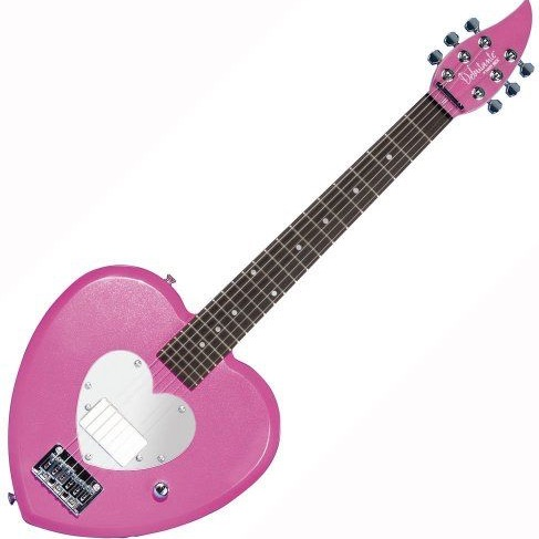Daisy Rock Heart Guitar