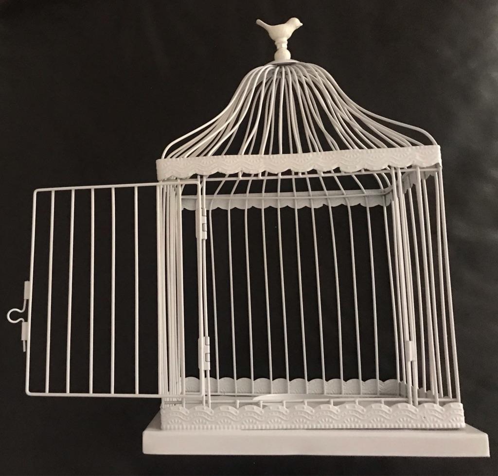 Ornamental birdcage.