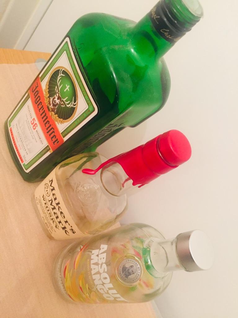 Empty bottles ### 2