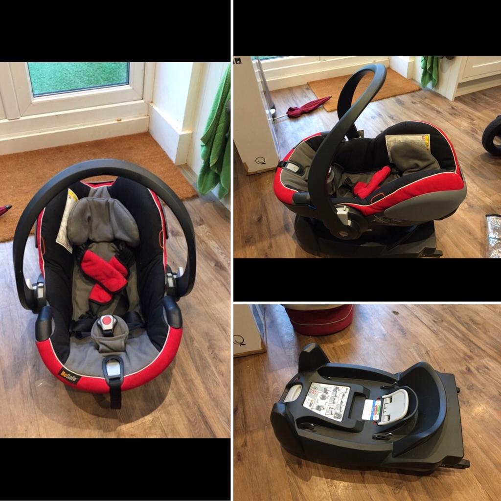 Car Seat & isofix (iZi Go)