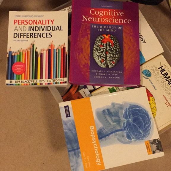 Psychology textbooks for Uni students