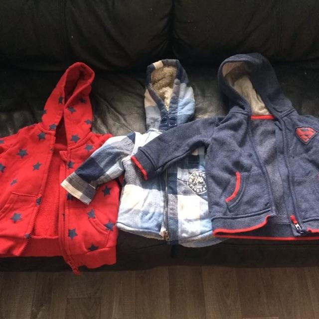 Baby boy zippers 3-6