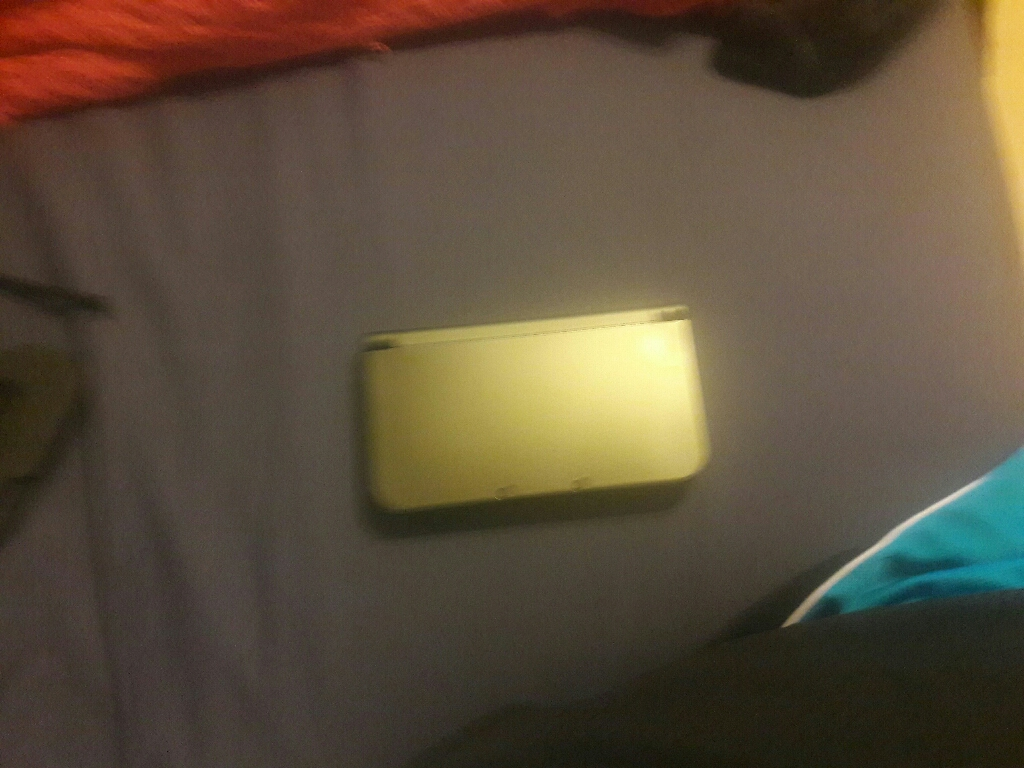 Black New Nintendo 3ds xl