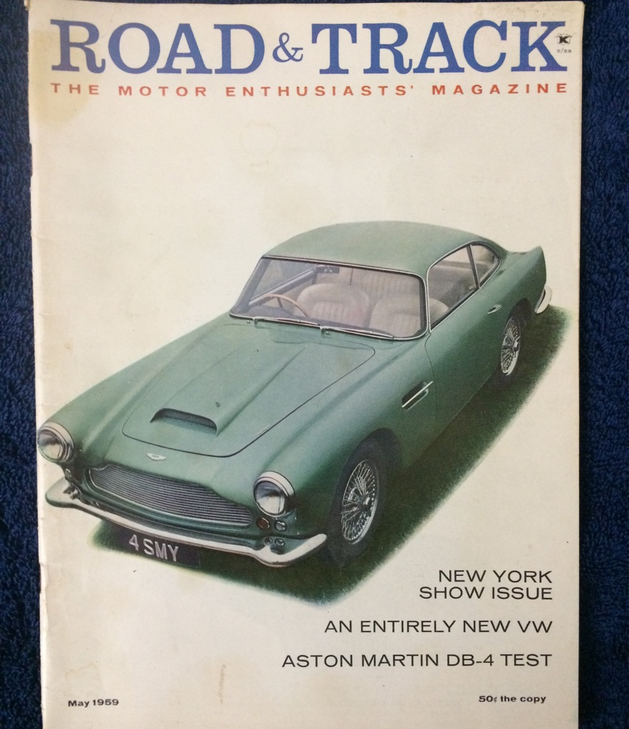 Road and Trac Magazine 1959