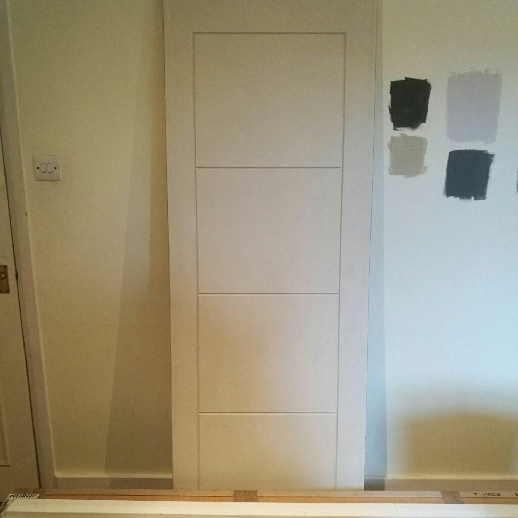 4 Panel Semi Solid Internal Door