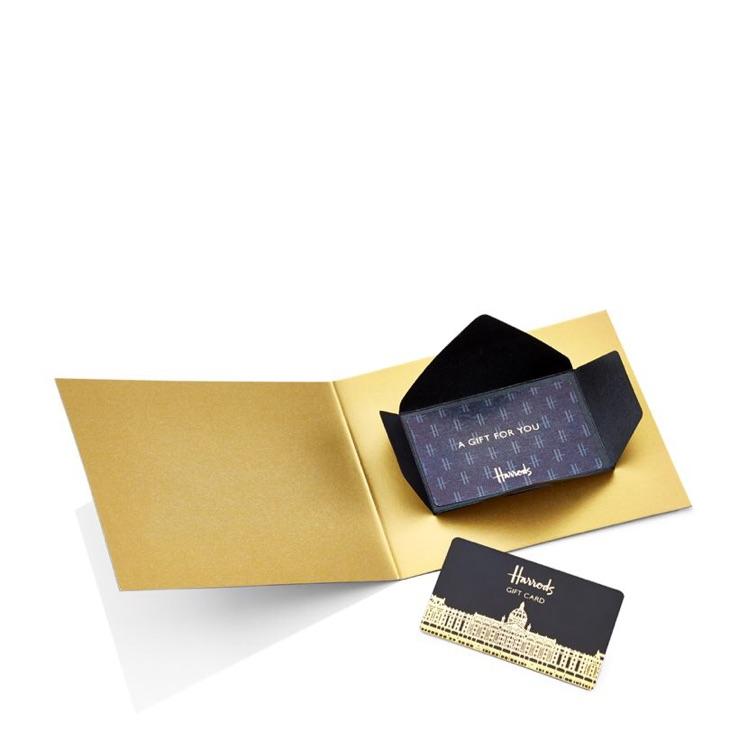 Harrods pre loaded £550.00 card