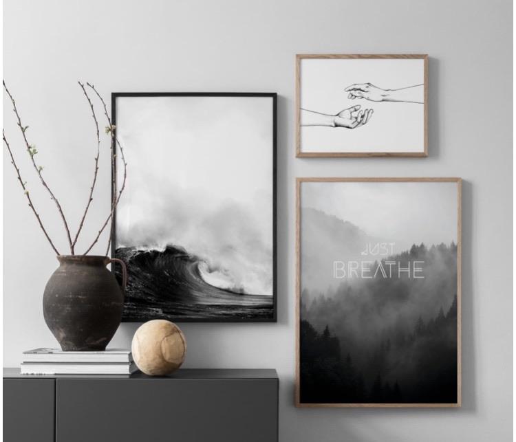 10% off wall art prints using my code below ⬇️