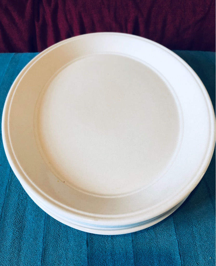 Large Serving Plates x4