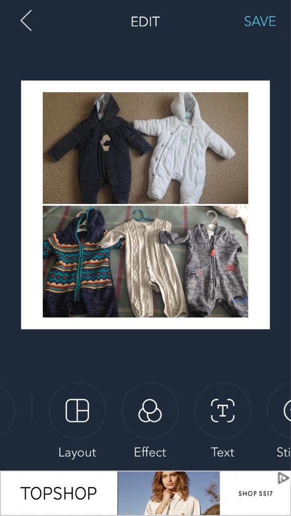 Boys baby bundle 0-3 month