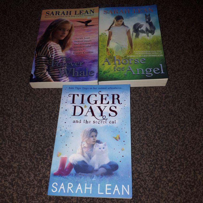 Sarah Lean books x5